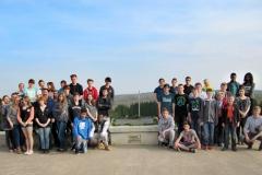 Erste Studienfahrt nach Verdun 2014 mit Klasse 8c Simon Imhäuser und 10a Lars Limbach(Lars Limbach) (Mittel)