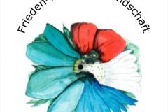 Blumen des Gedenkens zu einer Gedächtnisblume vereint (Zeichnung: Cazey Arns)