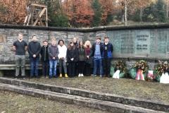Kranzniederlegung am Denkmal
