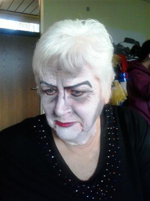 Frau Brühl Vampir schöner (Custom)